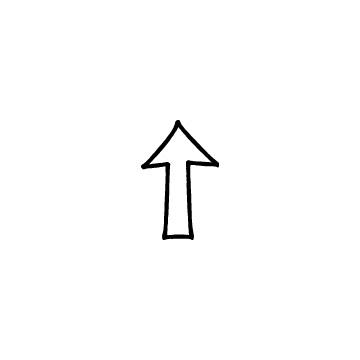 矢印2(上)