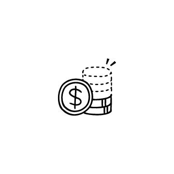 少なくなったドル硬貨