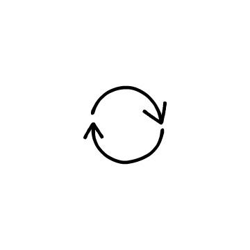 回転している矢印(1)