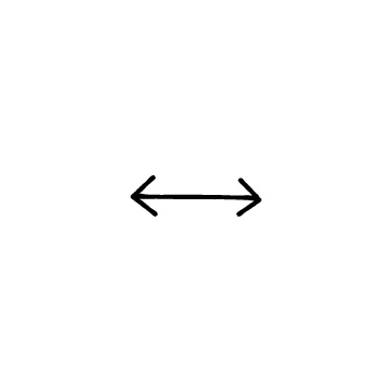 左右の矢印