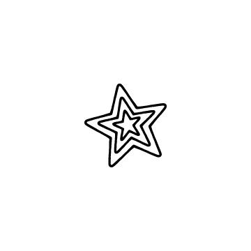 三重の星のアイコン