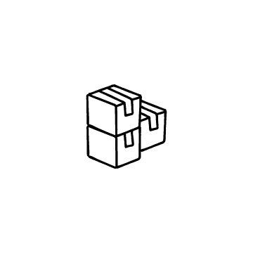 3個の段ボール箱のアイコンのアイキャッチ用画像
