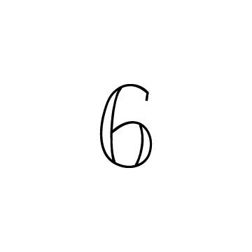 数字の6のアイコン