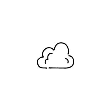 雲のアイコン