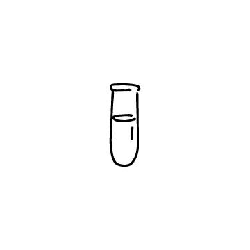 試験管のアイコンのアイキャッチ用画像