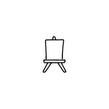 イーゼルのアイコンのアイキャッチ用画像