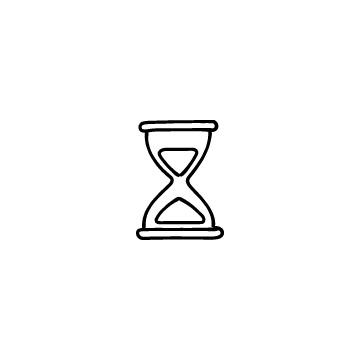 砂時計のアイコン