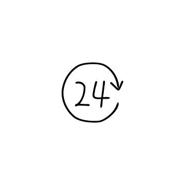 24時間のアイコン