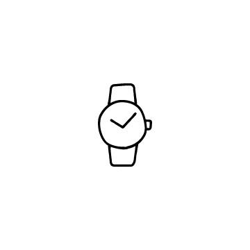 腕時計のアイコンのアイキャッチ用画像