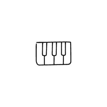 鍵盤のアイコン