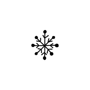 雪の結晶のアイコン2