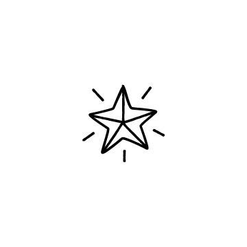 星のアイコンのアイキャッチ用画像
