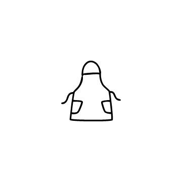 エプロンのアイコンのアイキャッチ用画像
