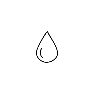 水滴・しずくのアイコンのアイキャッチ用画像