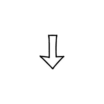 矢印2(下)