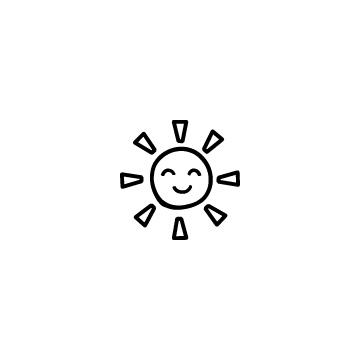 笑顔の太陽のアイキャッチ用画像