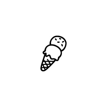 アイスクリームのアイキャッチ用画像