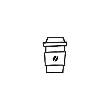 テイクアウト用のコーヒーカップのアイキャッチ用画像