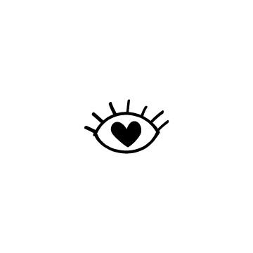 ハート目のアイキャッチ用画像