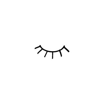 閉じている目のアイキャッチ用画像