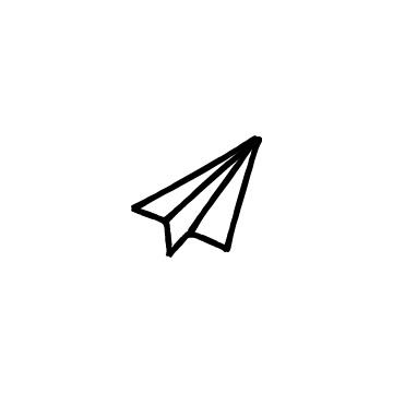 紙飛行機のアイキャッチ用画像