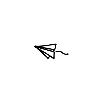 飛んでいる紙飛行機のアイキャッチ用画像