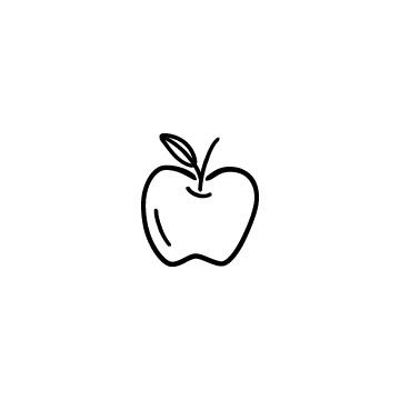 りんごの無料イラストのアイキャッチ用画像