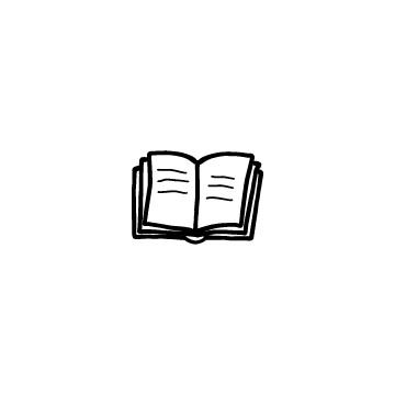 開いている本1