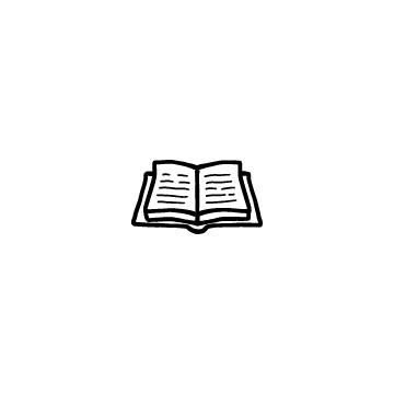 開いている本2
