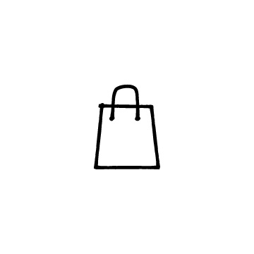 買い物袋のアイコンのアイキャッチ用画像