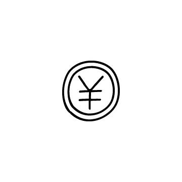 円硬貨のアイキャッチ用画像