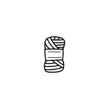 毛糸のアイコンのアイキャッチ用画像
