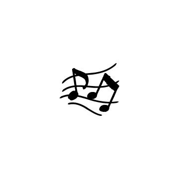 五線譜と音符のアイキャッチ用画像