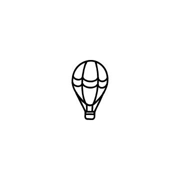 気球のアイコンのアイキャッチ用画像