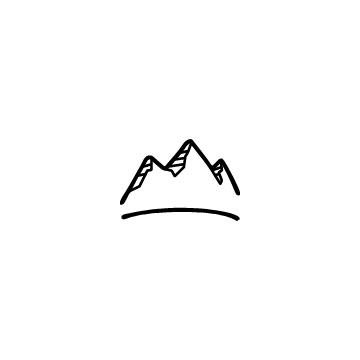 山のアイコンのアイキャッチ用画像