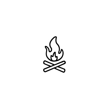 たき火のアイキャッチ用画像