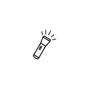 懐中電灯のアイキャッチ用画像