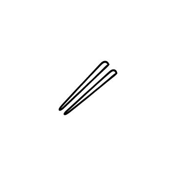 箸のアイコンのアイキャッチ用画像
