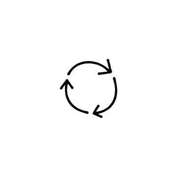 回転している矢印(2)