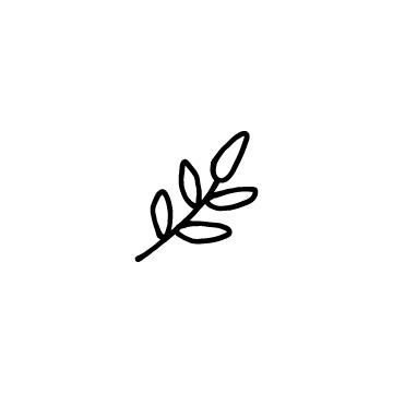 植物、葉っぱのアイコンのアイキャッチ用画像