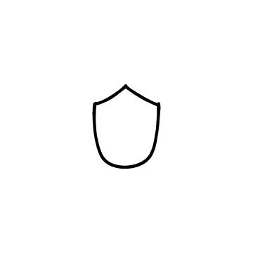 シンプルな盾のアイキャッチ用画像
