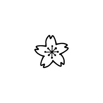 桜の花のアイキャッチ用画像