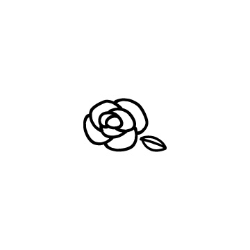 バラの花2