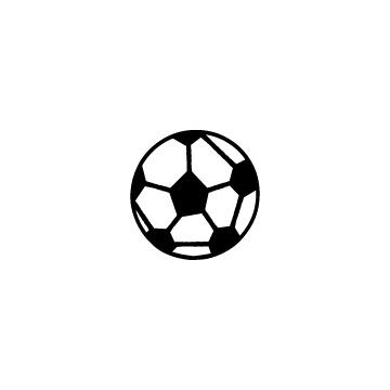 サッカーボールのアイコンのアイキャッチ用画像