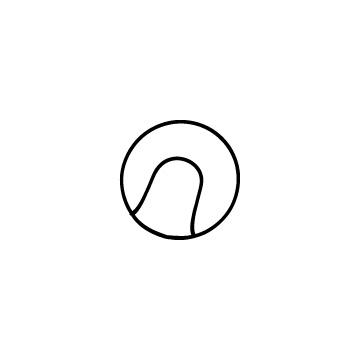 テニスボールのアイコンのアイキャッチ用画像