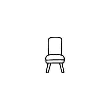 椅子のアイコンのアイキャッチ用画像
