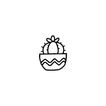サボテンのアイコン3のアイキャッチ用画像