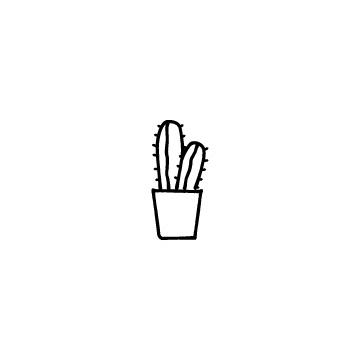 サボテンのアイコン4のアイキャッチ用画像