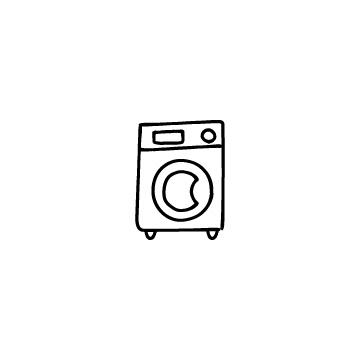 ドラム式洗濯機のアイコンのアイキャッチ用画像