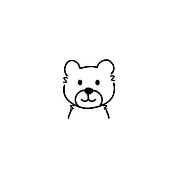 くまのアイコンのアイキャッチ用画像